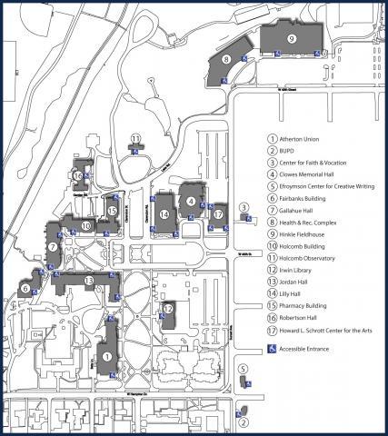 Butler University Campus Map Recital Announcement!! – Have You Heard