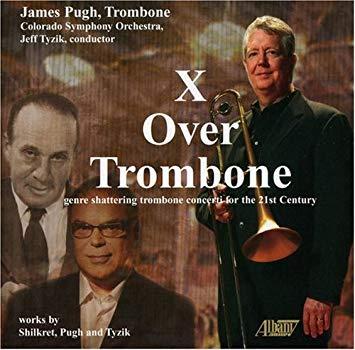 x over trombone album